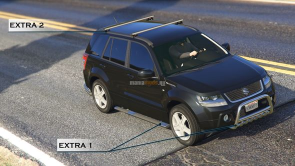 Скриншот Suzuki Grand Vitara [Add-On / Replace]
