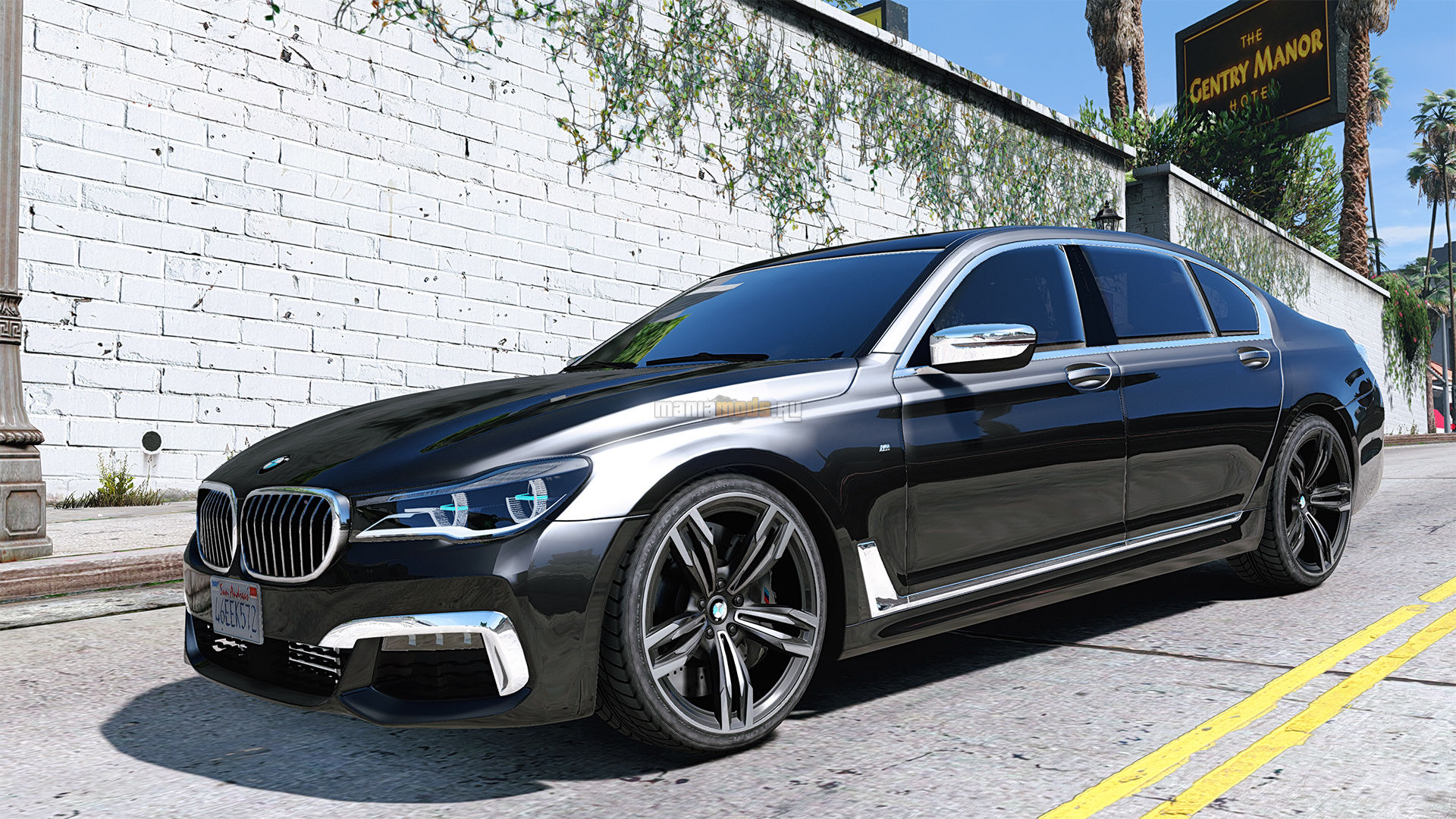BMW 750i M Sport 2016 Add On