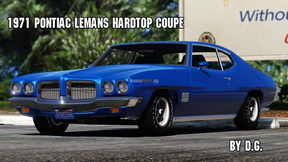 Скриншот 1971 Pontiac LeMans Hardtop Coupe [Add-on / Replace]