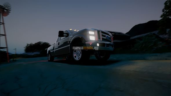 Скриншот 2008 Ford F350 Superduty [Add-On / Replace]