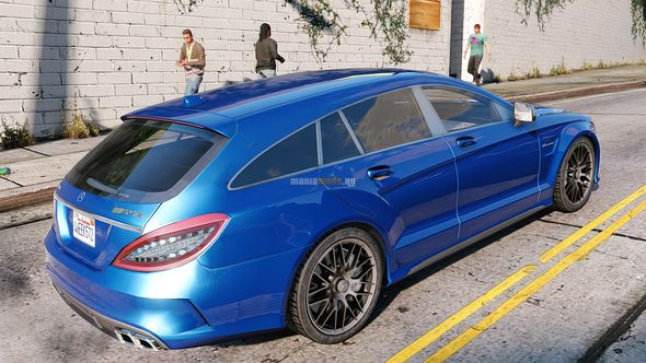 Скриншот Mercedes-Benz CLS Shooting Brake [Add-On]