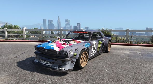 Скриншот Ford Mustang 1965 RTR Hoonicorn V2 [Add-On / Replace]