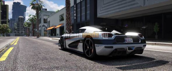 Скриншот Koenigsegg One1 [Add-On]