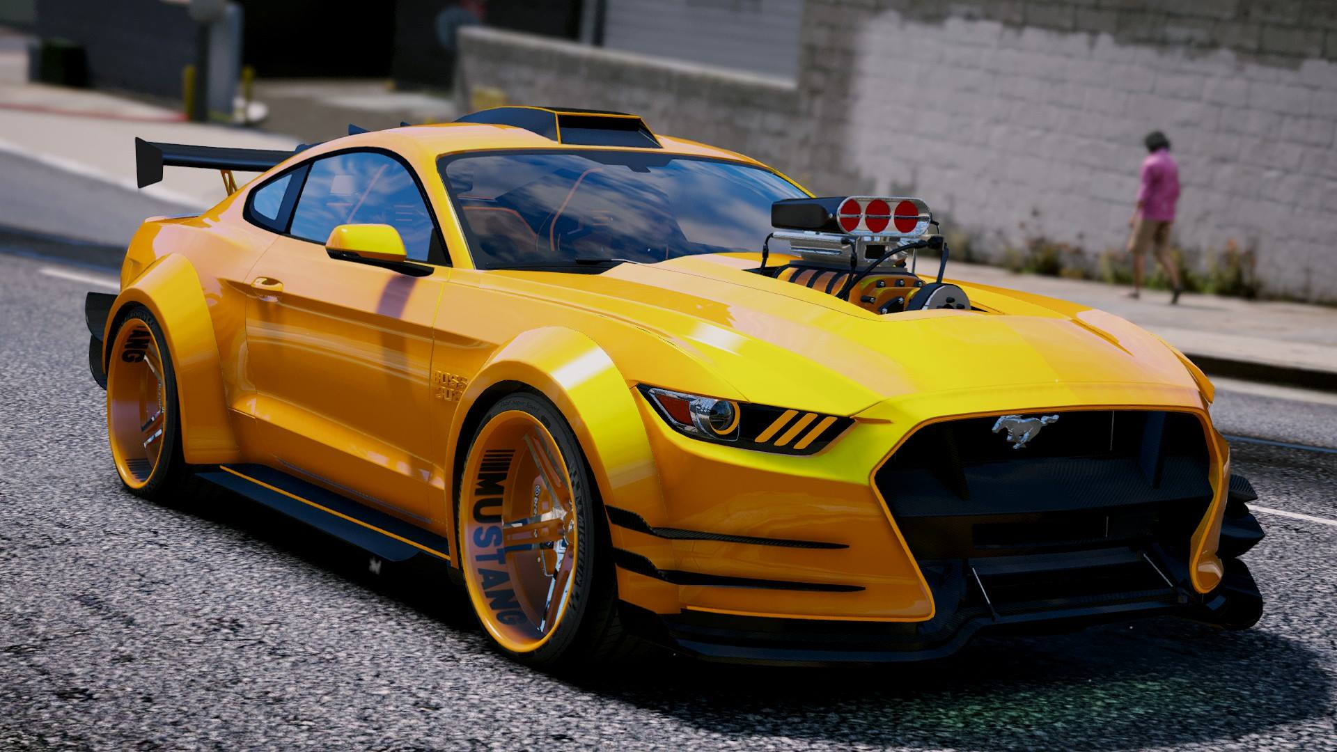 ford mustang tuning foto