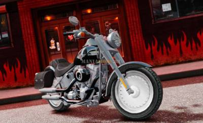 Скриншот 2013 Harley Davidson Softail Fat Boy v1.0