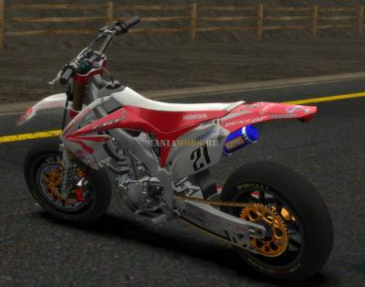 Скриншот Honda CRF 450 (Turbo Motard) v1.0