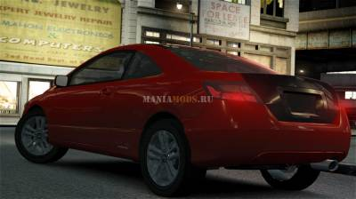 Скриншот Honda Civic Si Coupe 2006 [Final]