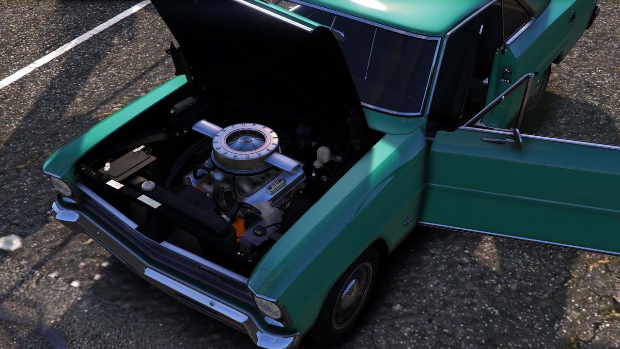 1966 Chevrolet Chevy Ii Nova Ss Add On Tuning Template