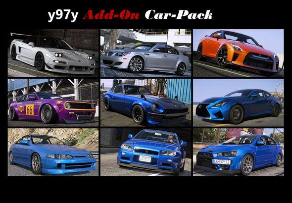 Скачать Vsoreny Car Pack (13 cars) [Add-On (OIV)] от