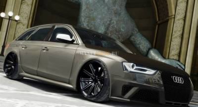 Audi RS4 Avant VVS-CV4 2013 [Beta] для GTA IV - Скриншот 1