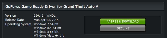 скачать драйвер для гта 5 Nvidia на виндовс 7 - фото 8