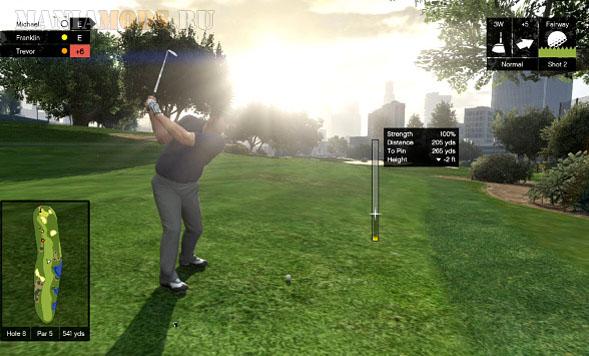 Гта 5 какая прибыль с гольф клуба
