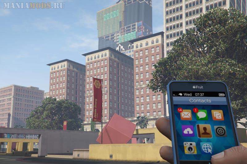 Лос-Сантос в игре GTA V выглядит лучше, чем Лос